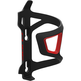 Cube HPP Left-Hand Sidecage Flaskeholder, black/red